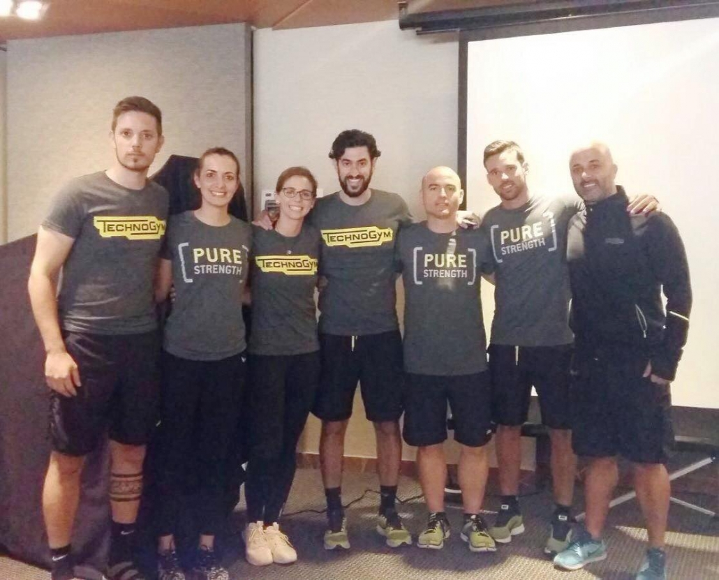 technogym trainers formación wellness Solutions